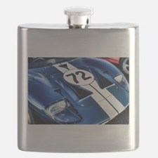 Blue Number 72 Flask