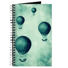 Steampunk Hot Air Balloons Journal