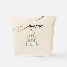 Custom Wedding Cake Tote Bag