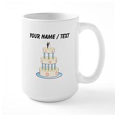 Custom Wedding Cake Mugs