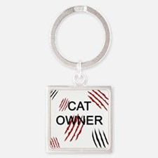 Cat Owner Claws 2 Keychains