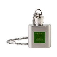 Rhett Butler You Should be Kissed Flask Necklace