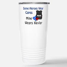 Cute Cop girlfriend Travel Mug