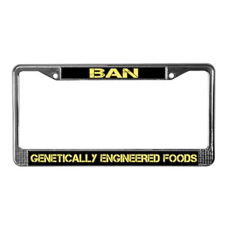 BAN Gmos License Plate Frame