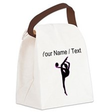 Custom Rhythmic Gymnastics Silhouette Canvas Lunch