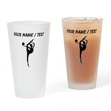 Custom Rhythmic Gymnastics Silhouette Drinking Gla