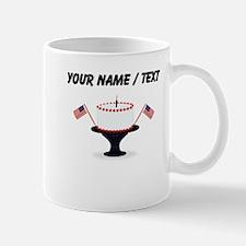 Custom Fourth Of July Cake Mugs