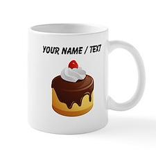 Custom Cake With Chocolate Frosting Mugs