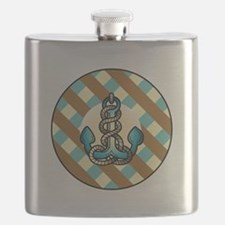 ANCHORS AWEIGH Flask