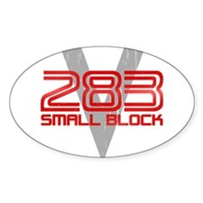 283 Small Block Decal