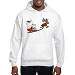 Santa Rabbit Christmast Hoodie