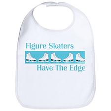Skaters Edge Turquoise Ice Skates Bib
