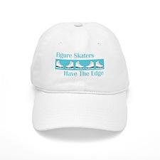 Skaters Edge Turquoise Ice Skates Baseball Cap