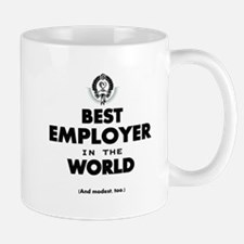 The Best in the World Best Employer Mugs