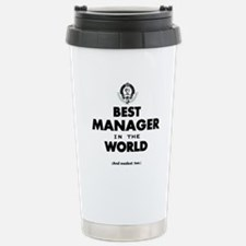 The Best in the World Best Manager Travel Mug