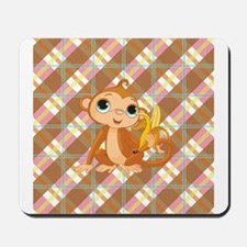 HUNGRY MONKEY Mousepad