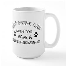 California Spangled cat design Mug