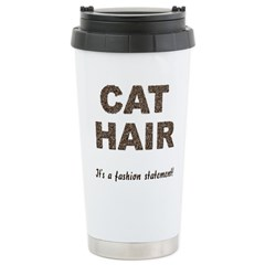FIN-cat-hair-fashio... Travel Mug