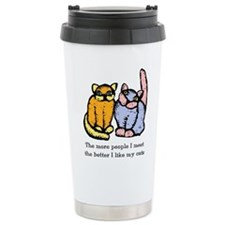 like-my-cat.tif Travel Mug