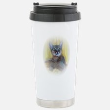 Abyssinian Cat Photo Stainless Steel Travel Mug
