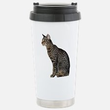 FIN-savannah-cat-CROP.png Travel Mug