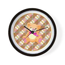 CUTIE BEAR Wall Clock