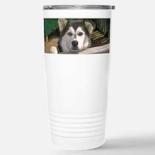 Alaskan Malamute Travel Mug