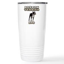 Boston Terrier Dad Travel Coffee Mug