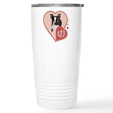 BFF Boston Terrier Travel Mug
