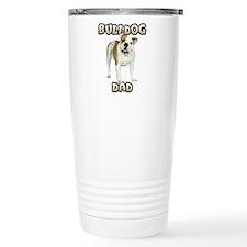 Bulldog Dad Travel Coffee Mug