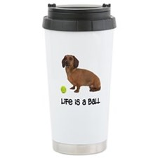 FIN-dachshund-life-ball.png Travel Mug