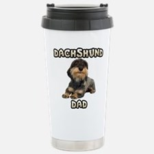 Wirehaired Dachshund Dad Travel Mug