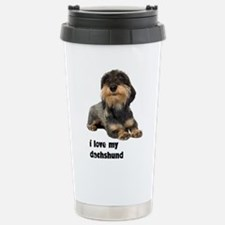 FIN-wirehaired-dachshund-love.png Stainless Steel