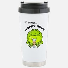 FIN-frog-always-hoppy-hour.png Travel Mug