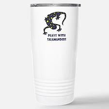 plays-with-salamand... Travel Mug