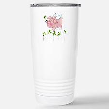 Pig In Clover Travel Mug