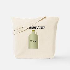 Custom Moonshine Jug Tote Bag