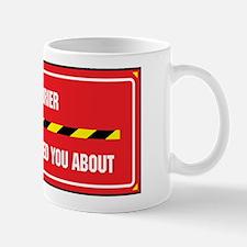 I'm the Courier Mug