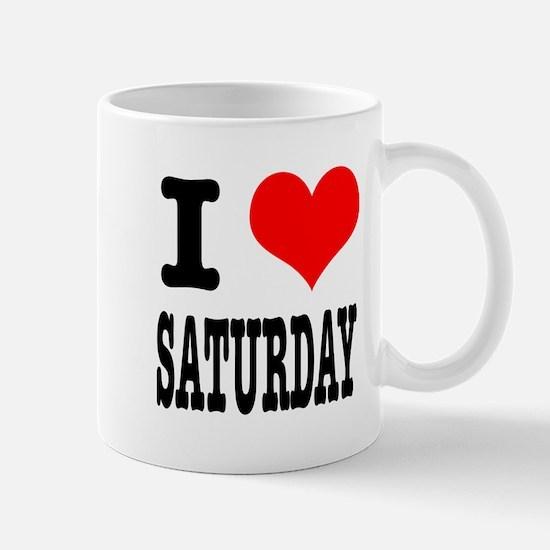 I Heart (Love) Saturday Mug