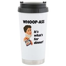 FIN-whoop-ass-dinner.png Travel Mug
