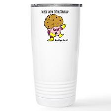 Muffin Man Stainless Steel Travel Mug