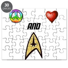 Peace Love and Trek Puzzle