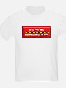 I'm the Court Clerk T-Shirt