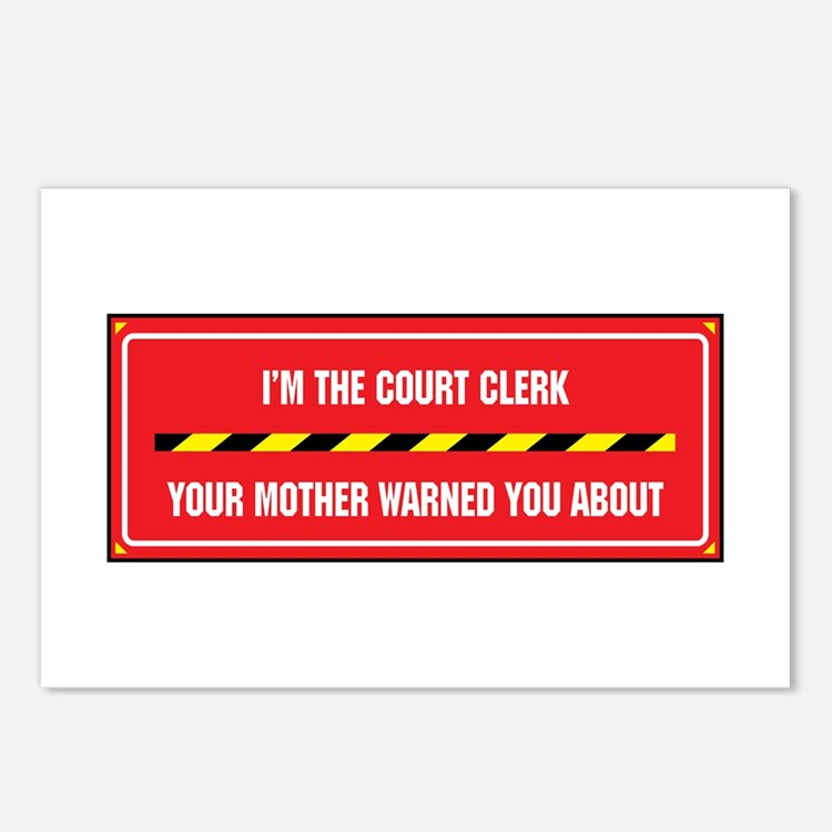 I'm the Court Clerk Postcards (Package of 8)