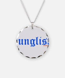 Junglist Necklace Circle Charm