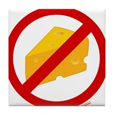 No Cheese Tile Coaster