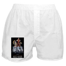 Animated Movie 'Time Machine' Boxer Shorts