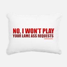 Cute Deejay Rectangular Canvas Pillow