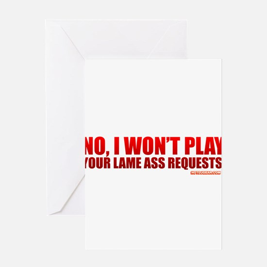 Funny Request Greeting Card