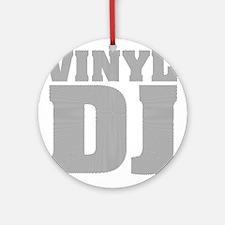 Vinyl DJ Grooves Ornament (Round)